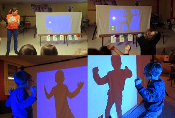Animation sur les ombres