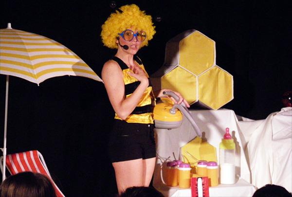 Mielline l'abeille -